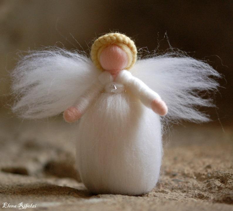 Angelo Swarovski in fairy tale wool Waldorf inspiration image 0