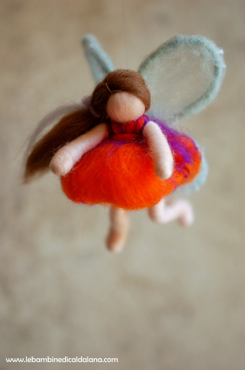 Butterfly fairytale wool Waldorf inspiration image 0