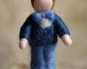 Luke, Wool fairy tale, Waldorf inspiration