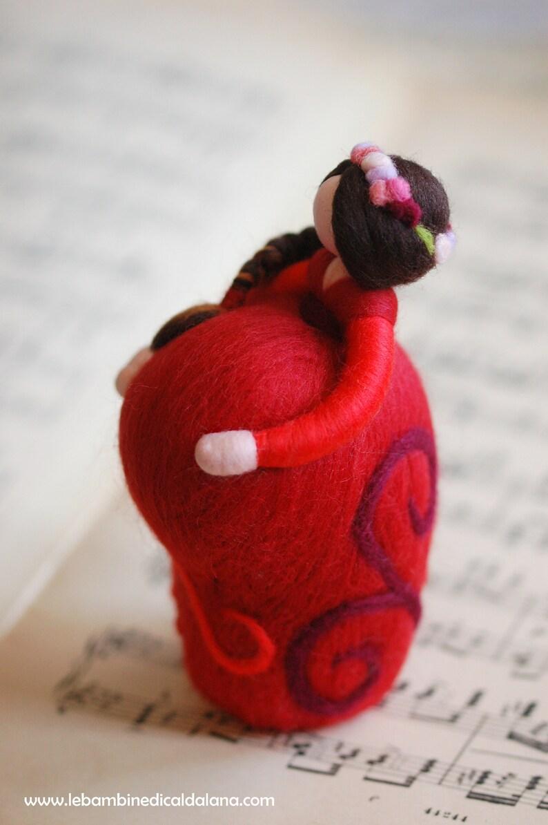 Sweet waiting fairytale wool Waldorf inspiration image 0