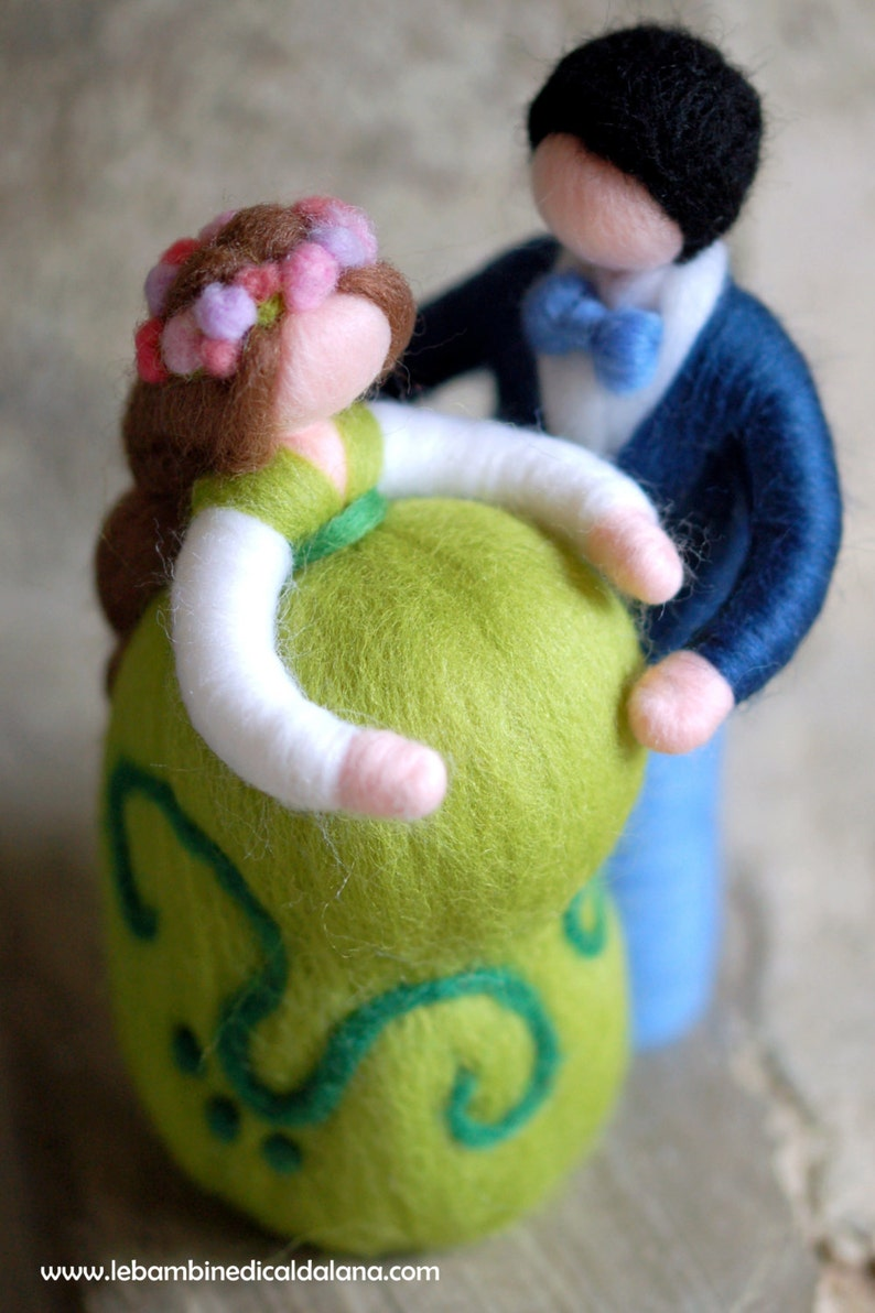 Family in sweet waiting fairytale wool Waldorf inspiration image 0