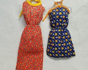 Vintage Barbie best buy sun dresses