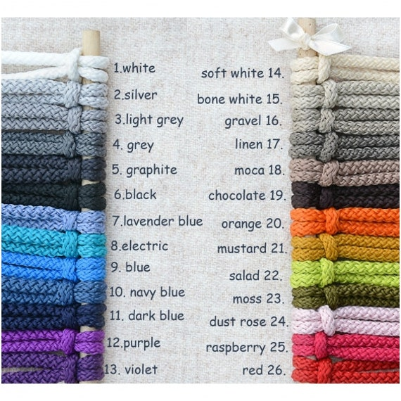 Bolso hecho punto cuerda cesta hecha a mano bolso ganchillo | Etsy