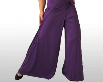 WIDE LEG PANTS, Flamenco Pants, Various Colours! Wrap around trousers, Gypsy trousers, Moroccan Pants, Extra wide leg trousers, yoga pants