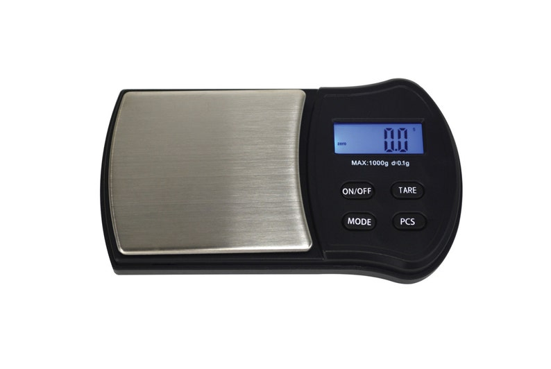 1000 Gram Digital Pocket Scale for Weighing Gold Silver Jewelry  Pennyweights Troy Ounce Grains Carats - MEAS-0001
