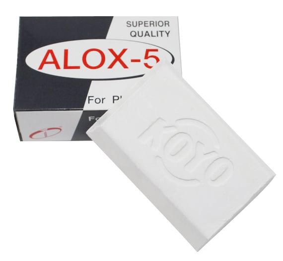 Alox 6 Door Koyo Japan Wit Platina Metalen Sieraden Polijsten Samengestelde 80 Gram Bar 42 1025