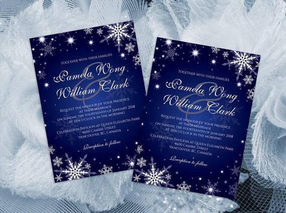 Diy Printable Wedding Invitation Card Template Editable Ms Etsy