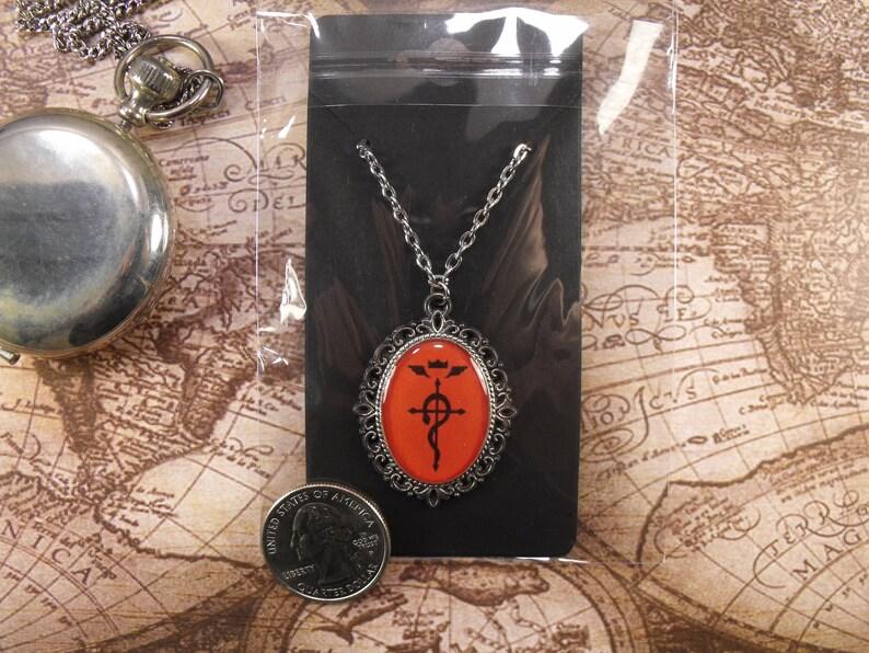 Fullmetal Alchemist Pendant Necklace | Etsy