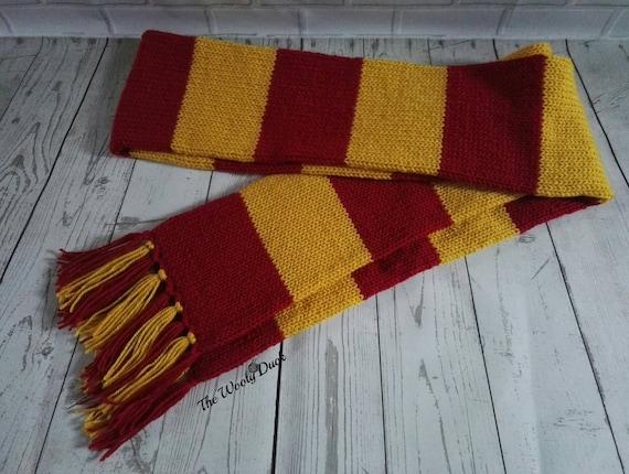adatto a uomini/donne design moderno sentirsi a proprio agio Magico Harry Potter ispirato sciarpa di colore di casa