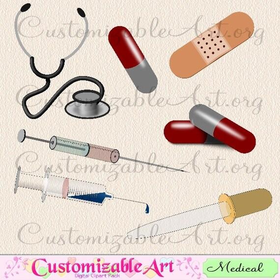 Medical Clipart Medicine Clip Art Doctor Nurse Pills Syringe