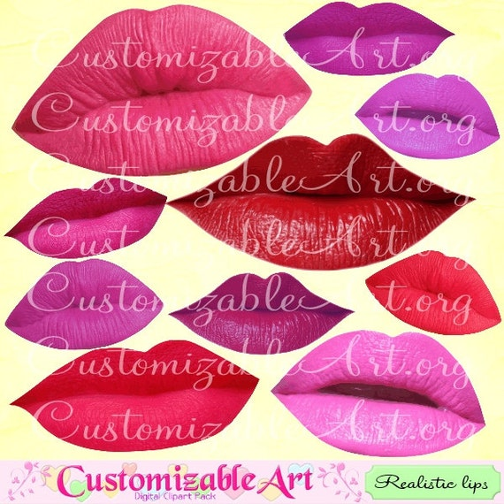 Red Lips Clipart - Lips , Free Transparent Clipart - ClipartKey
