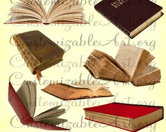 Book Clipart Digital Book Clip Art Realistic Old Open Book Bible Clipart Images Dusty Book Scrapbook Printable Brown Reading Book Graphics
