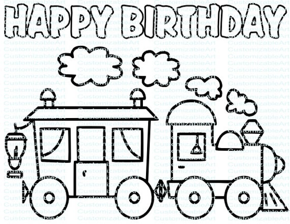 Choo Train Birthday Party Printables