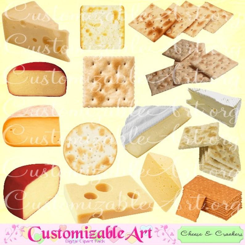 kaas cracker clipart digitale zwitserse kaas blok cracker clip | etsy