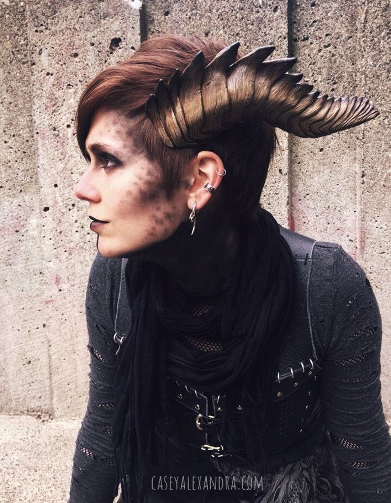 DIY Blank Resin Costume Horns | Demon or Dragon Cosplay Horns | Made to  Order
