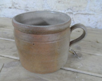 French stoneware cup/vase