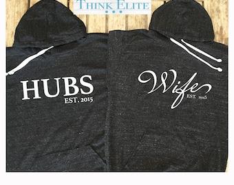 Wifey and hubby hoodie bundle. Wifey Light weight hoodie. Hubby Light weight Hoodie. made by thinkelite1 DO8Djll1w