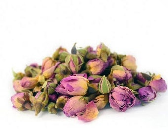 Dried Pink Rose Buds for Soap Decoration 20g