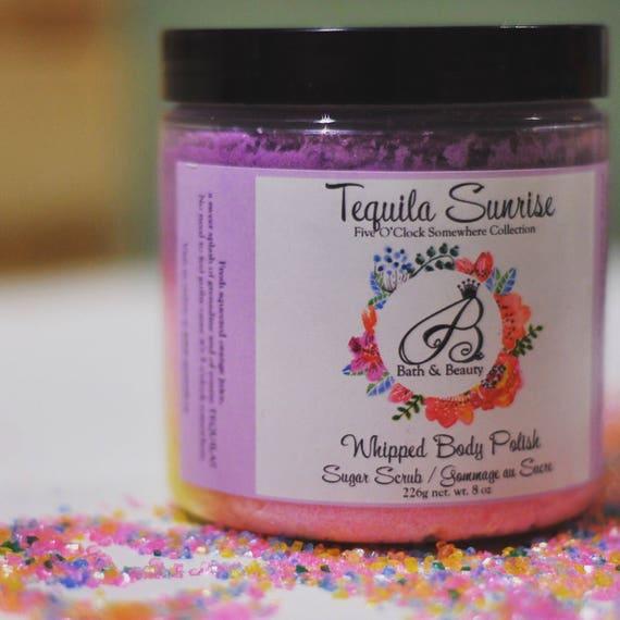 TEQUILA SUNRISE Whipped Sugar Scrub