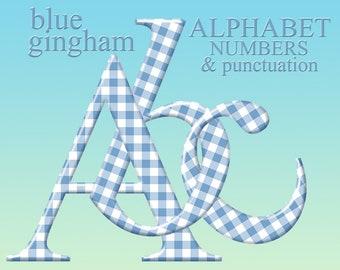 Alphabet Gingham Check Pattern Primary Palette Stock Illustration 56520628