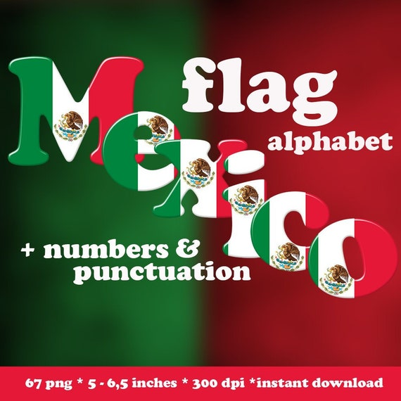 photograph relating to Printable Mexican Flag named Mexican flag alphabet clipart, inexperienced, crimson and white font, printable major and little letters, figures and punctuation; for professional retain the services of