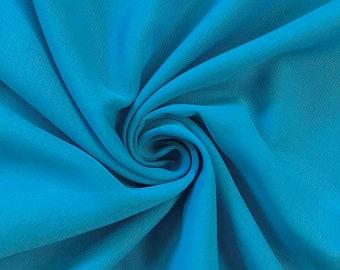 Türkis Chiffon Stoff Polyester alle festen Farben schiere 58   breit von  der Werft für Bekleidung, Dekoration, Handwerk f4fe3f50e7