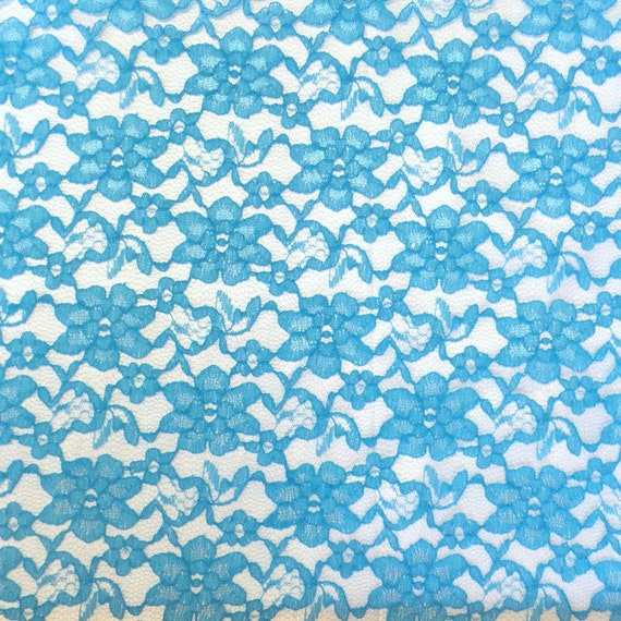 "Per Yard Rachelle Lace Dress Apparel Fabric 58/"" Wide White"