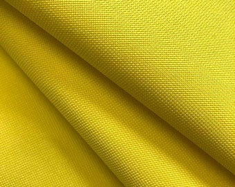 """Ottertex™ Yellow Canvas Fabric Waterproof Outdoor 60"""" Wide 600 Denier By The Yard"""