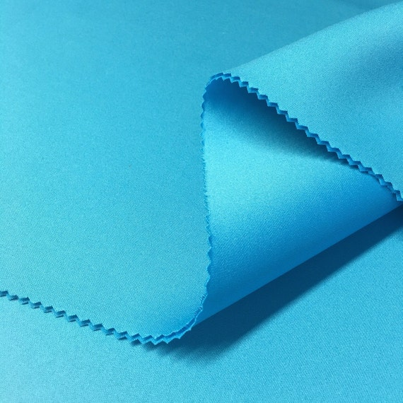 1.5mm Thick Neoprene Scuba Knit Fabric Polyester Spandex Sold BTY 58/'/' All Color