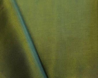 "Dark Olive Polyester Lining Fabric Silk Habutae 60"" Wide Habotai Habutai By The Yard"