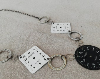 Limited Edition // Timepiece necklace // Vintage Watch Parts // Unique // Handmade in UK // Wedding Gift // Gifts for Women // Mothers Day