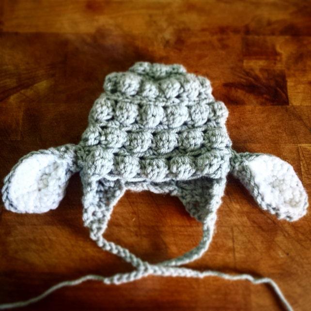 5ef2352fae319 Little Lamb hat Sheep hat Spring hat Baby crochet hat Animal