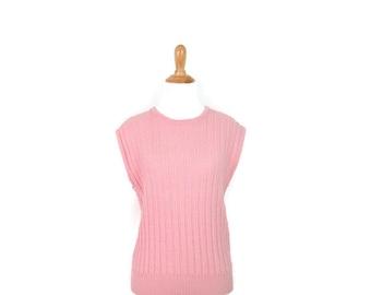 Pink Sweater Vest Etsy
