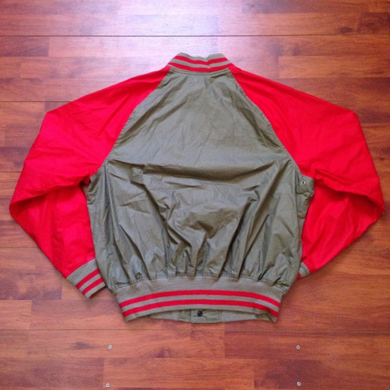 80's Ralph Lauren Polo Bomber - Fits like Large -… - image 2