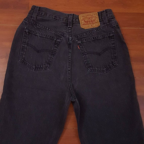 90's Black Women's Levi's 501 Jeans - Fit Like Tig