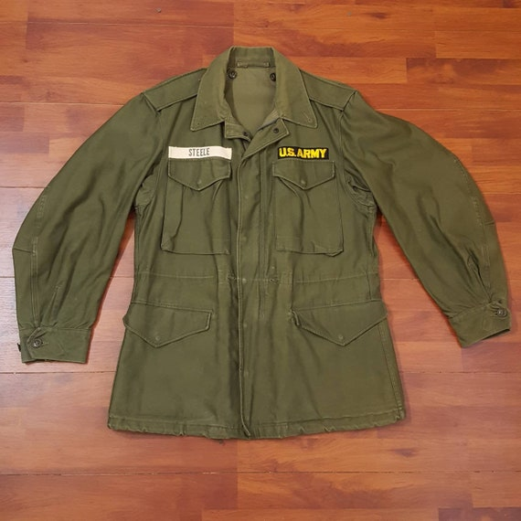 50's M51 US Army Field Jacket - OG 107 - Small/Med