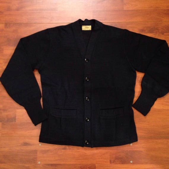 50's H.L. Whiting Company Blank Letterman Sweater