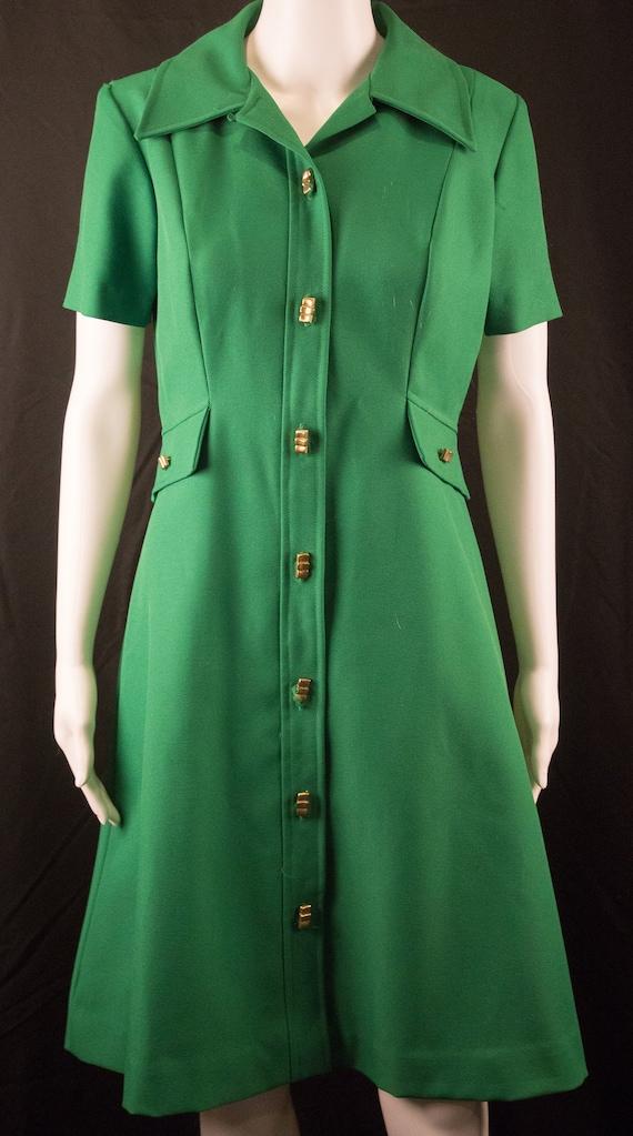Vintage Mad Men 60's Dress - S/M - Ladies Workers