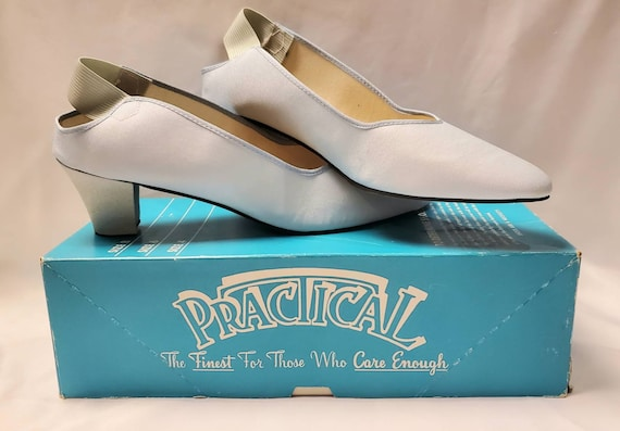 Vintage 1970's Funeral Dress Shoes - Funeral Home