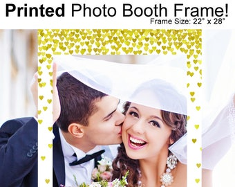 Wedding Photo Booth Frame- Engagement Party Photo Booth Frame- Anniversary Photo Booth Frame- Wedding Frame Prop- Wedding Photo Prop Frame