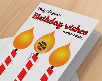 Dirty Birthday Cards Etsy