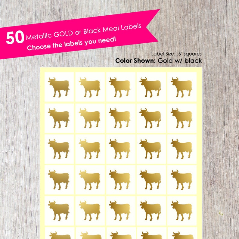 Meal Stickers 50 Wedding Meal Stickers Place Card Menu Choices Place Card Stickers Wedding Meal Stickers Meal Choice Wedding