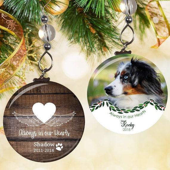 image 0 - Pet Memorial Ornament Pet Memorial Christmas Ornament Pet Etsy