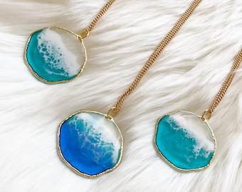 wearable beach mini-art Ocean Art Pendants
