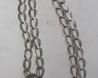 Sterling Silver 20 inch chain with Clown necklace! (#E612ab)