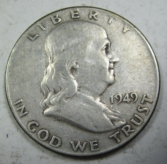 1959 D  Ben Franklin Half Dollar From Mint Sets 90/% Silver Combined Shipping