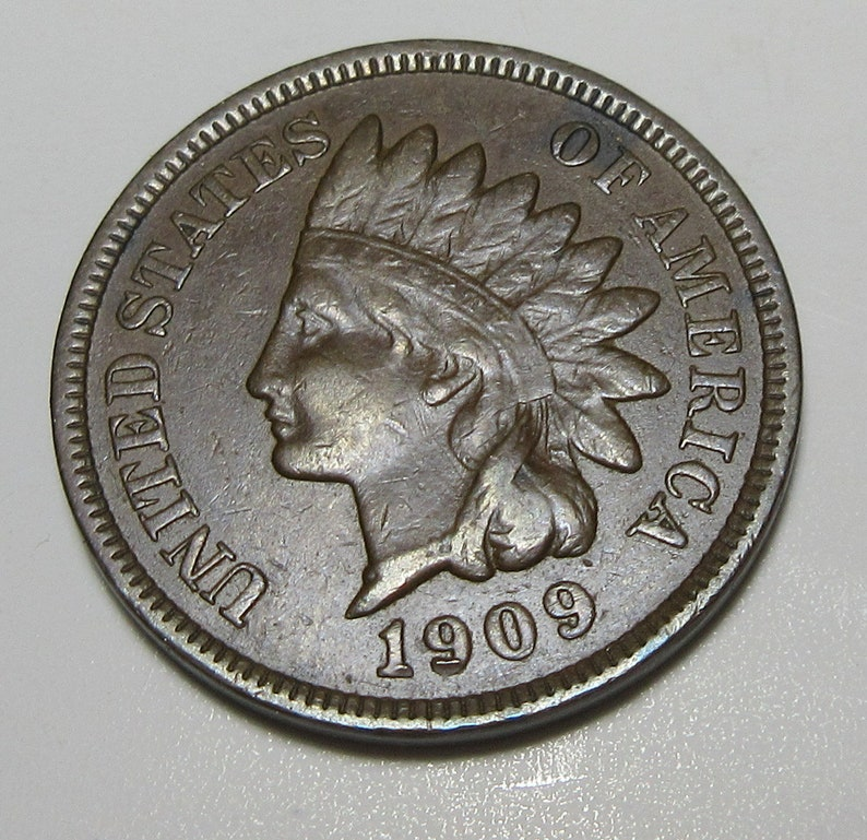 #E611DD 1909 Indian Head Cent