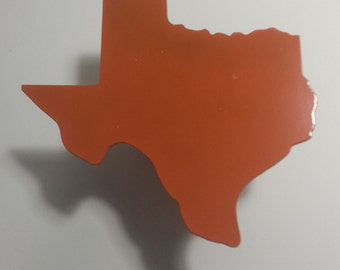 CNC Plasma Home Made Texas State Hitch Cover Metal Powder Coated or Raw Steel
