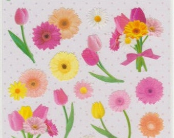 Flower Stickers - Mind Wave Stickers - Reference A5351