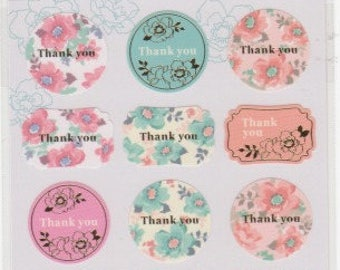 Thank You Stickers - Mind Wave - Reference A4840-41